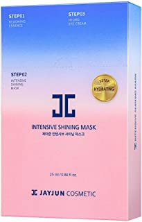 JAYJUN Official Intensive Shining Mask 25ml / 0.84 fl.oz. Pack of 10