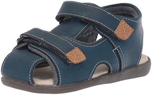 See Kai Run Boys' Corey Sport Sandal, blue, 4 M US Toddler