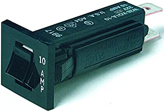 TE CONNECTIVITY / POTTER & BRUMFIELD W28-XQ1A-10 CIRCUIT BREAKER, THERMAL, 1P, 250V, 10A (5 pieces)