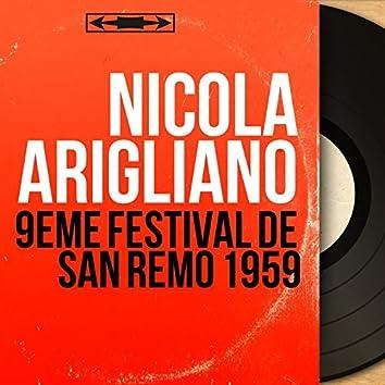 9ème festival de San Remo 1959 (feat. Pino Calvi e la sua orchestra) [Mono Version]
