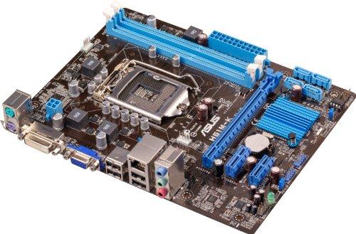 ASUS Intel H61 搭載 マザーボード LGA1155対応 H61M-K VGA/DVI-D 【 MATX 】