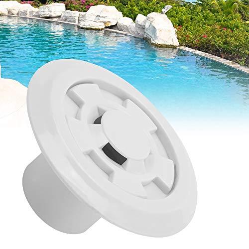 Salida de desbordamiento de agua de piscina de plástico, accesorios de descarga de drenaje de agua para piscina de masaje/piscina de spa