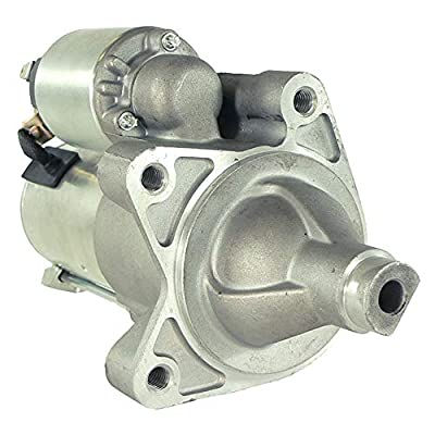 DB Electrical SDR0373 Starter For Jeep Wrangler 3.8 3.8L 07 08 09 10 11 /Dodge Nitro 4.0 4.0L 07 08 09 10 11 /04801269AB, 4801269AB, 4801269AD /8000160, 8000243
