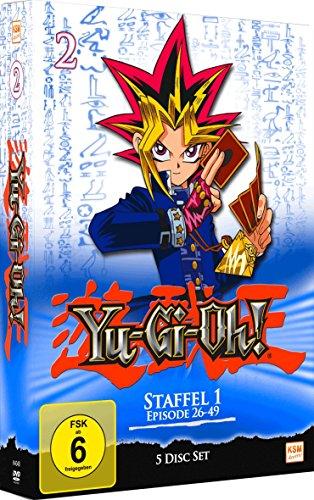 Yu-Gi-Oh! Staffel 1 - Episode 26-49 [5 DVDs]