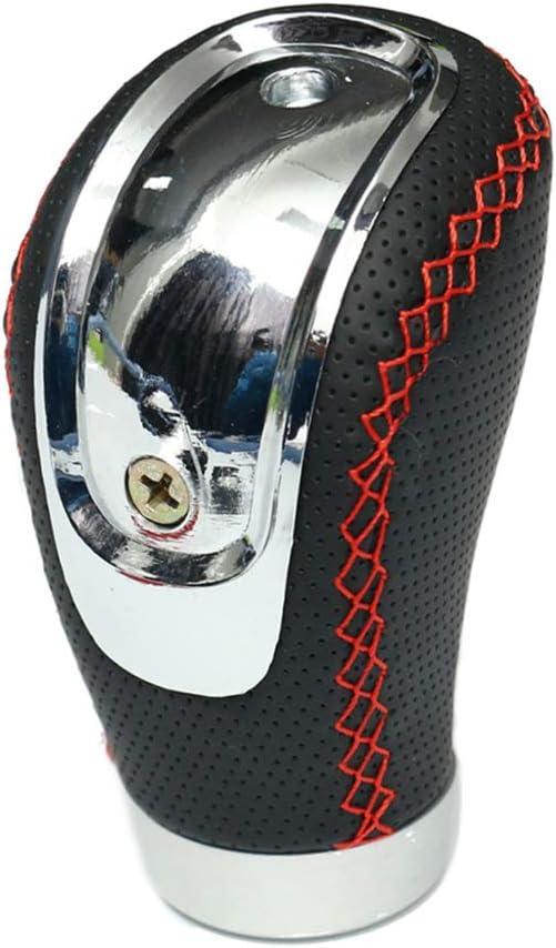 Carrfan 5 6 Speed Fresno Mall Black PU Gear Manual Kn Ranking TOP18 Car Conversion Leather