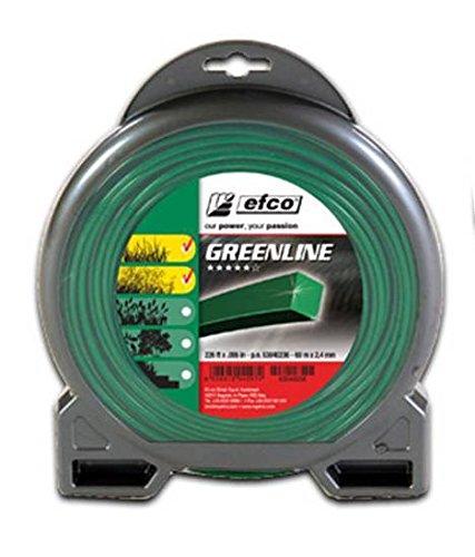 Fil carré pour débroussailleuse Greenline - Blister