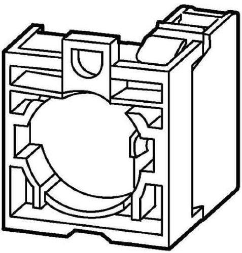 Eaton 216503 Kontaktelement 1 Öffner inklusive Befestigungsadapter, Frontbefestigung, Schraubanschluss