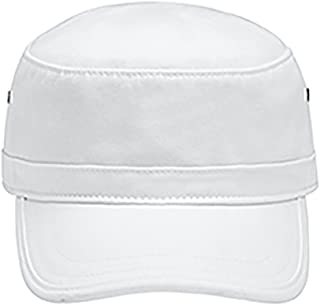 A Product of Comfort Colors Canvas Café Cap -Bulk Saving White