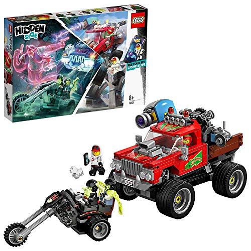 LEGO 70421 - Hidden Side EL Fuego´s Stunt Truck, Spielzeug für Kinder mit Augmented Reality Funktionen