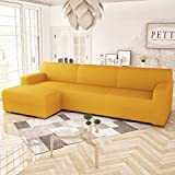 PETTI Artigiani Italiani Funda Chaise Longue, Funda Sofa Chaise Longue, Funda Elastica Chaise Longue, Funda Chaise Longue Brazo Derecho (Visto Desde Sentado), Funda Chaise Longue 300 (4 Plazas)