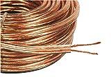 65Pies/20M 15AWG cobre libre de oxígeno Cable de altavoz exterior dimensiones 2x 2mm de espesor de alta calidad OFC 2x 40mechones
