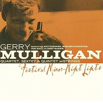 Festival Minor - Night Lights (feat. Art Farmer, Bob Brookmeyer, Jim Hall & Chet Baker)