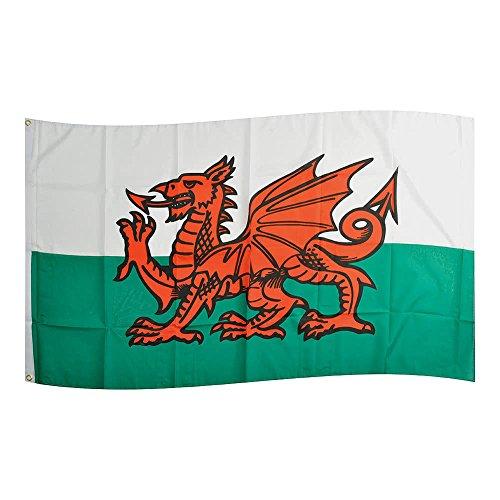 Fahne Flaggen WALES 150x90cm