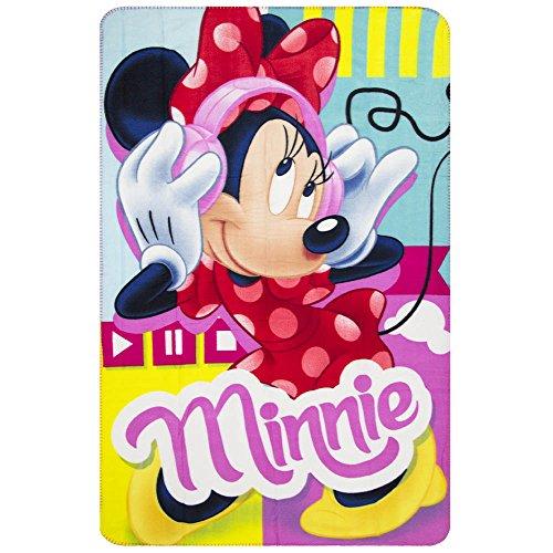 Couverture polaire Minnie Mouse