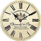 FFDGHB Orologio da Parete Orologio da Parete Antico, Orologio da Cucina, Orologio da Parete retrò Squallido, Decorazione della Stanza della Cucina di Casa