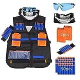 Cozywind Kit de Chaleco Táctico para Niños, Juguetes Tácticos para Nerf N-Strike Elite Series - para Niños Cumpleaños Actividades al Aire Libre