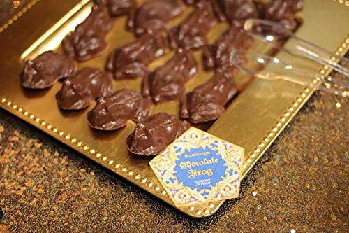 """Candy Chocolate Frog Mold And Magic Wizard Wand Making - 3 Frog Mold With 8 Cavities Each, With 15, 9"""" Bamboo Chopsticks - Perfect For DIY Crafts Wizard Wand."""