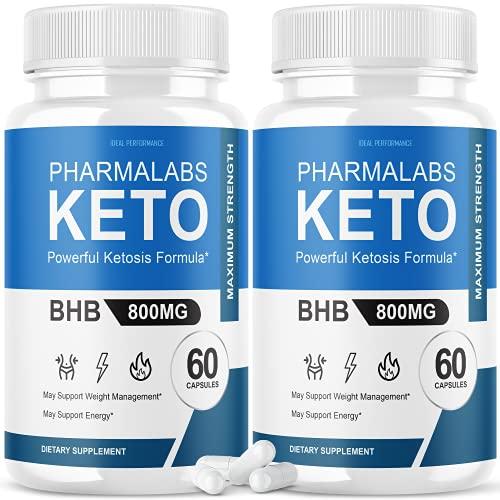 (2 Pack) Pharmalab Keto Pills Pharm…