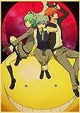 ruyanruomeng Póster Lienzo Pintura Anime Killer Classroom Retro Pared Imágenes Artísticas Sin Marco Moderno Decoración del Hogar Impresiones Artísticas Quadro Cuadros K655(40X60Cm)
