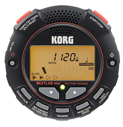 KORG メトロノーム/リズム・トレーナー BEATLAB mini 打楽器 ドラム パーカッション 個人練習に最適 ゲーム感覚 リズム感を養う クリップマイク同梱