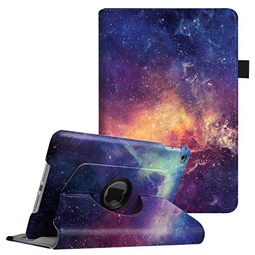 Fintie, hoes voor iPad Mini 4, 360 graden roterende standaard, cover, case, beschermhoes, tas, etui, met automatische slaap-waakfunctie voor Apple iPad Mini 4 Retina iPad Mini 4 Z- De Galaxy