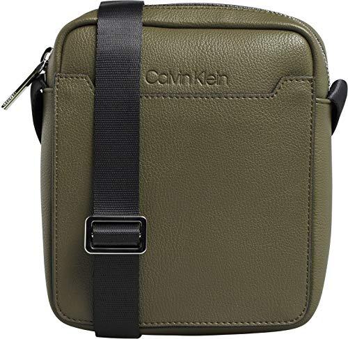 Calvin Klein Sliver Mini Reporter, Sacs pour ordinateur portable homme, Vert (CamouflageFluo Yellow), 1x1x1 cm (W x H L)
