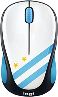 Logitech M238 Wireless Mouse, Design Fan Collection, 2.4GHz with USB Receiver, 1000 DPI Optical Tracking, 12-Months Batter...