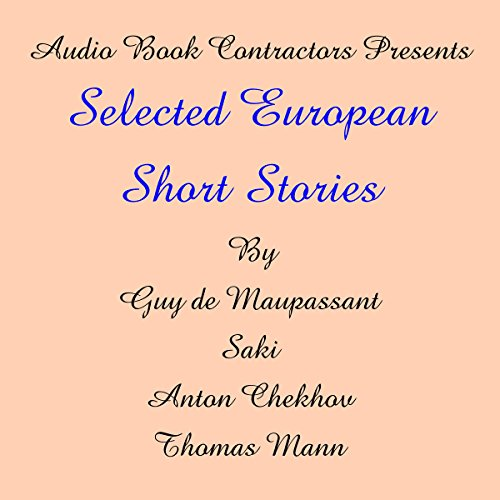 Selected European Short Stories  By  cover art