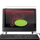 VacFun 3 Piezas HD Claro Protector de Pantalla para HP Compaq Presario All-in-One CQ1-1300 AIO / 1307la / 1310la / 1305la / 1303la / 1325br / 1306la 20', Screen Protector(Not Cristal Templado)