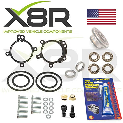 X8R M52TU M54 M56 6-CYLINDER ENGINE VANOS PISTON SEALS AND RATTLE RINGS REPAIR KIT FOR DOUBLE TWIN DUAL VANOS COMPATIBLE WITH BMW 3 SERIES E46 1998-2005 PART # X8R0164