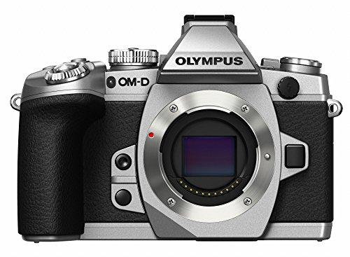 OLYMPUS ミラーレス一眼 OM-D M1 ボディ シルバー 防塵 防滴(ボディーキャップレンズBCL-1580付属) OM-D E-M1 BODY SLV