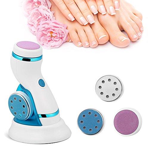 【ó 】 Removedor de callos eléctrico, depurador de pie eléctrico, removedor de...