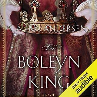 The Boleyn King audiobook cover art
