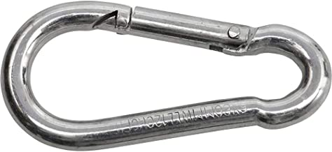 SWG 680 154 881 80 Brandweerkarabijnhaak Staal 8 x 80 mm (l x b) 80 mm x 8 mm