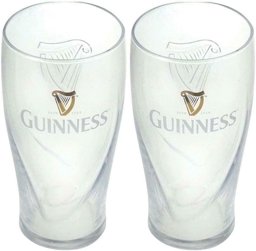 Guinness Gravity Pint Glass 2 Pack