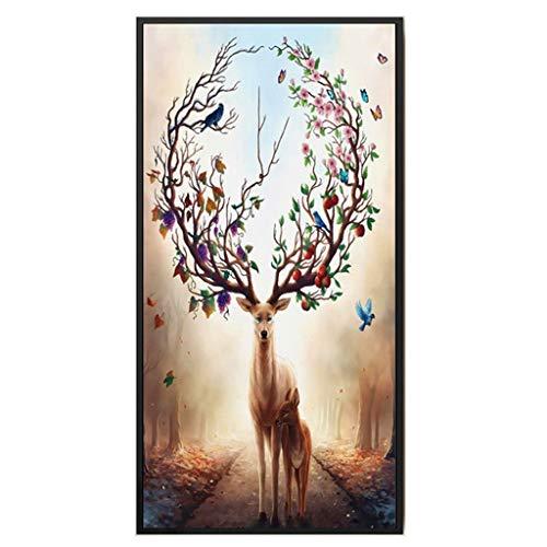 Loup Lune Loona Mylar Airbrush Peinture murale Art Pochoir A2 Taille Pochoir - Large