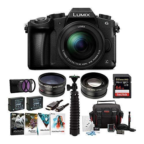 Panasonic LUMIX DMC-G85MK 4K Mirrorless Lens...
