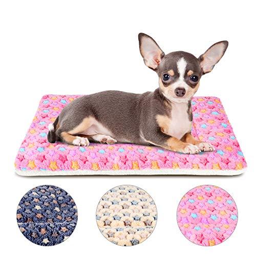 Mora Pets Hundebett Hundedecke Hundekissen Katzenbett Katzendecke für Hunde Hundematratze Hundekistenbett Katzen Bett Weiche rutschfeste Waschbar
