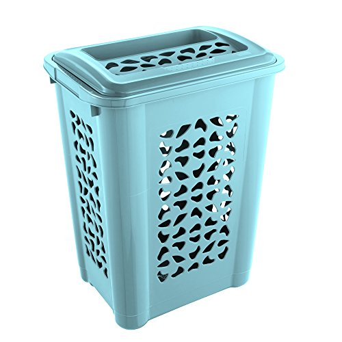 keeeper Laundry Hamper, Light Blue