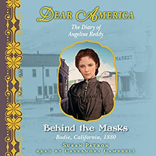 Dear America: Behind the Masks audiobook cover art