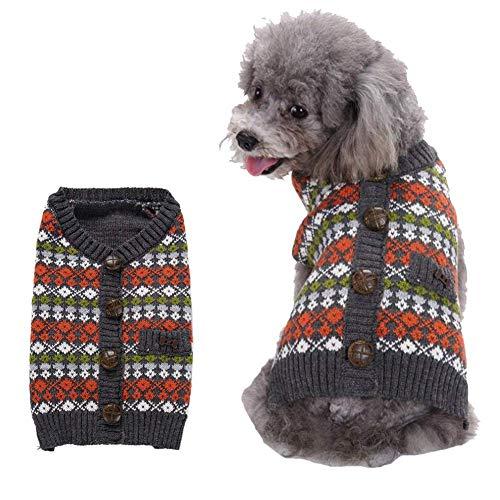 Petneces hond doek puppy kleine hond trui gesneden kerst