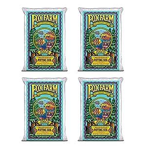 Fox Farm FX14000 Ocean Forest Organic Plant Garden Potting Soil Mix 1.5 cu ft, 40 Pounds (4 Pack)