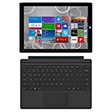 Microsoft Surface Pro 3 QL2-00015, 12-inch, Intel Core i5-4300U, 8GB RAM, 256GB SSD with Keyboard (Renewed)