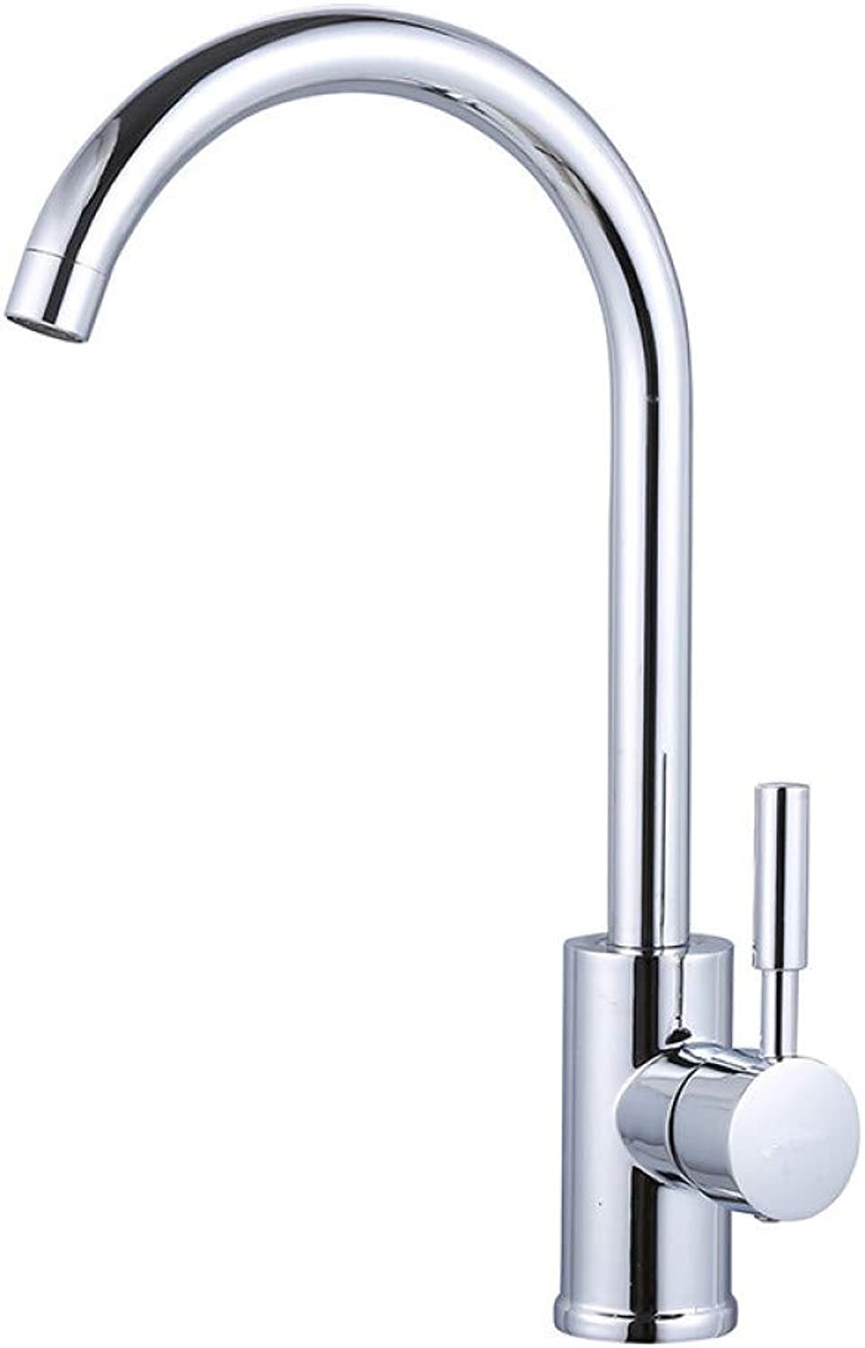 PZXY Faucet Kitchen hot and Cold Faucet Household Sink All Copper redatable Faucet