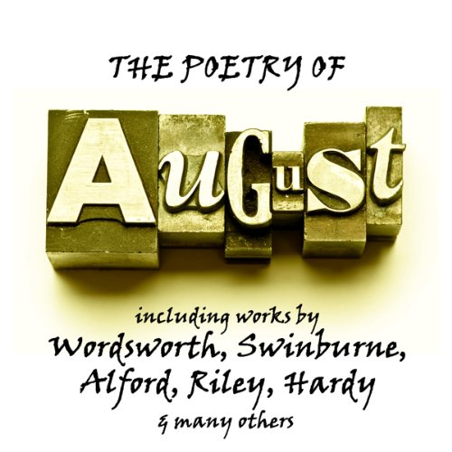 The Poetry of August audiobook cover art
