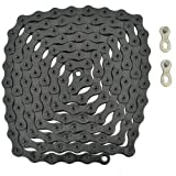 YBN 12 Speed Chain 126 Link with Power Lock Black, ST1450