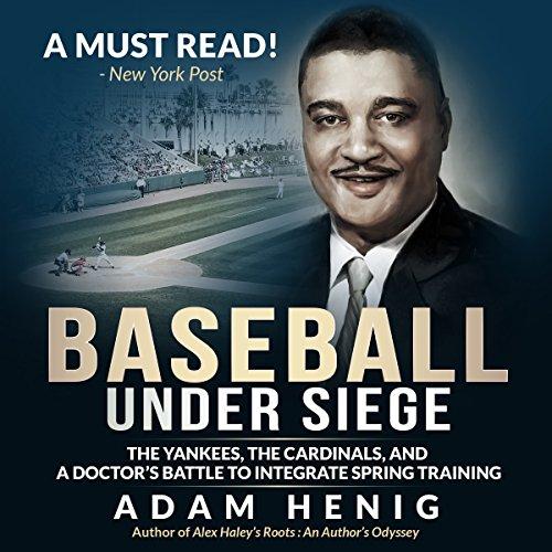 Baseball Under Siege audiobook cover art