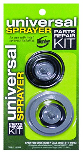 Roundup 182349 Universal Lawn and Garden Sprayer Repair Kit with O-Rings, Seals and Gaskets
