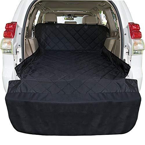 Arkmiido Kofferraumschutz Hund mit Seitenschutz,Universal Kofferraummatte für Hunde Wasserdicht Auto Kofferraum Hundedecke Schutzdecke für PKW-LKW Van und SUV