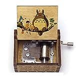 GSHGS Mi Vecino Totoro Music Box Giratoria Metalica Música Clásica Hecha a Mano Decoración De San Valentín para Hombres Y Mujeres